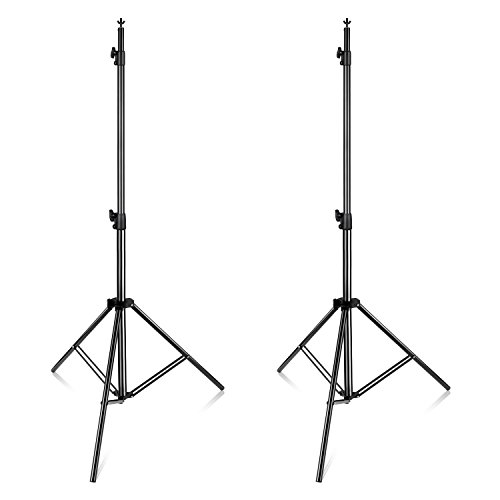 Neewer Pro 10x12 feet/3x3.6 Meters Heavy Duty Adjustable Backdrop Support System Photography Studio Video Stand with Carrying Bag for Backdrop Background by Neewer (Image #5)