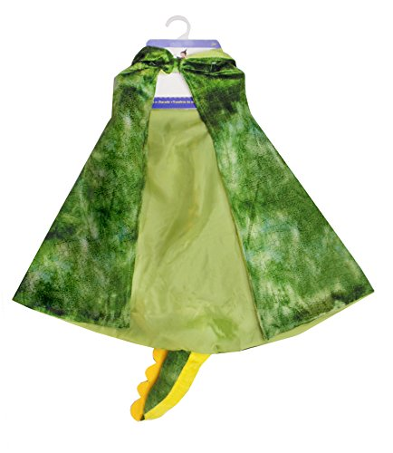 Kids Dinosaur Dress Up (Creative Education Great Pretenders T-Rex Hooded Cape, Size 4-5 by of Canada Costume)