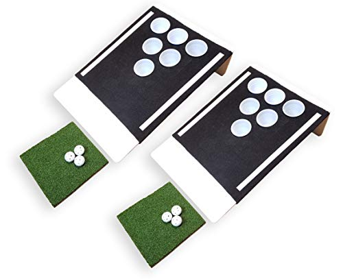 Beer Pong Golf: The Original Eco-Friendly Tailgate Edition - Black