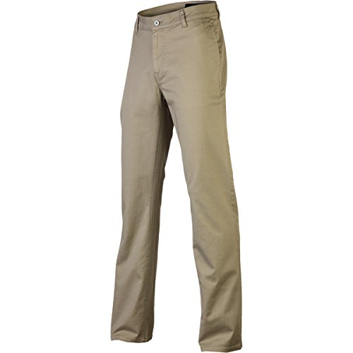 (KR3W Men's Klassic Relaxed Fit Chino Pants 32 Dark)