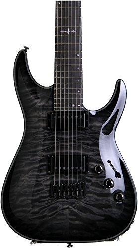 Schecter 1924 Hellraiser Hybrid C-7 TBB Electric Guitars