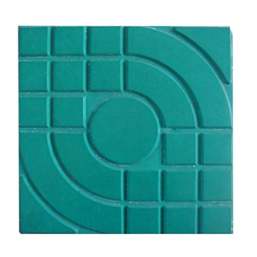 Clearance Sale!DEESEE(TM)Plastic Making DIY Paving Mould Home Garden Floor Road Concrete Stepping (A)]()