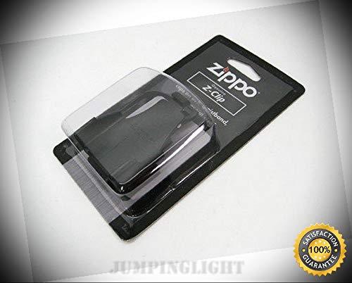 Black Z-Clip Belt Clip Sun Visor Lighter Holder Accessory 121506 - Premium Lighter Fluid (Comes Unfilled) - Made in USA!