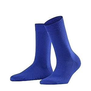 FALKE Women Softmerino Socks – Merino Wool/Cotton Blend, Multiple Colours, UK sizes 2.5-8 (EU 35-42), 1 Pair – Warm, breathable, pressure-free cuff, ideal for business or casual sock