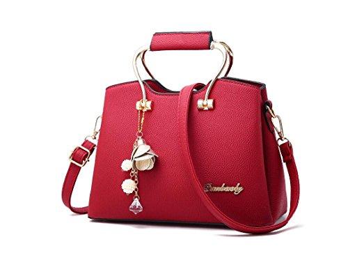 Coréenne nouvelles Accessoires Bag Sac Gules besace LEODIKA De Version Sac mode femmes Lady épaule Black Sac unique de PFBqRw5nxB
