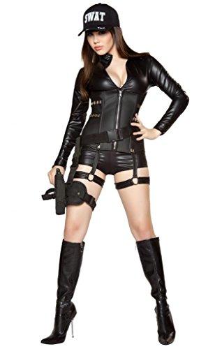 Sexy Swat Team Girl Halloween Costume (Hot Cop Costumes)
