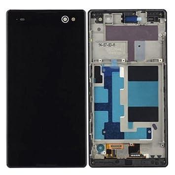 8e6e4ade8b9 Cellphone Replacement Parts Repuestos para celulares IPartsBuy Pantalla LCD  + Pantalla táctil digitalizador con reemplazo de Marco para Sony Xperia C3  ...
