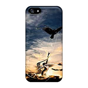 Awesome Mystic Motion Flip Case With Fashion Design For Iphone 5/5s