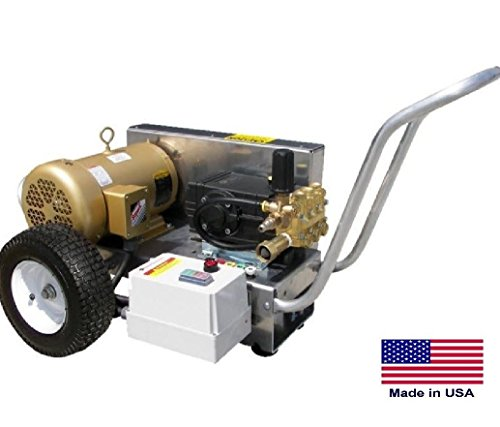 Pressure Washer Commercial - Electric - 4 Gpm 3500 Psi 10 Hp 230V - 3 Ph (3 Gpm Cat)