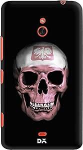 DailyObjects Polish Skull Case For Nokia Lumia 1320