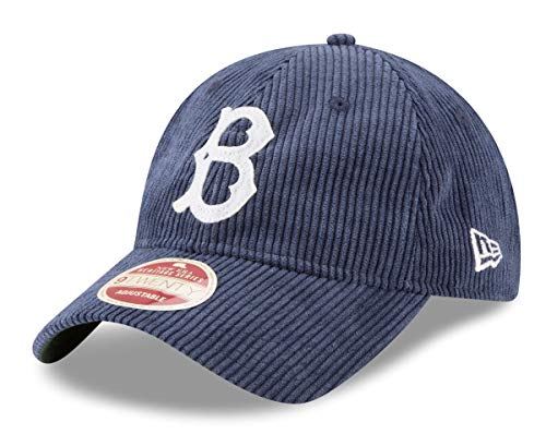 New Era Brooklyn Dodgers MLB 9Twenty Cooperstown Cord Classic Adjustable Hat