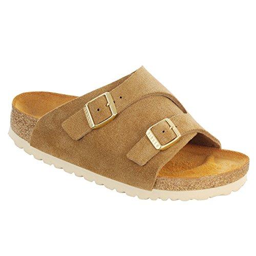 New Birkenstock Zurich Sand Suede 42/9-9.5 N Mens Sandals axKsh6