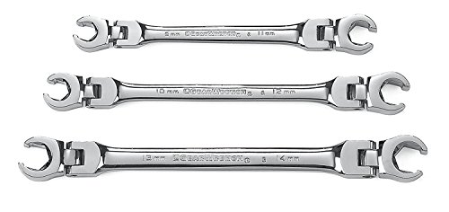 Metric Flare (GearWrench 81915 3 Piece Flex Flare Nut Wrench Set Metric)
