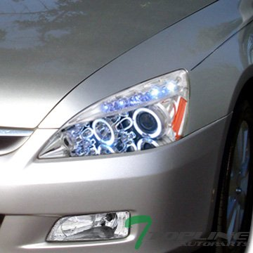 05 honda accord halo lights - 7