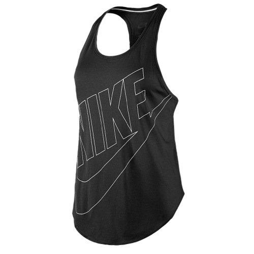 Nike Signal Tank Black/White 642781-010 (SIZE: M)