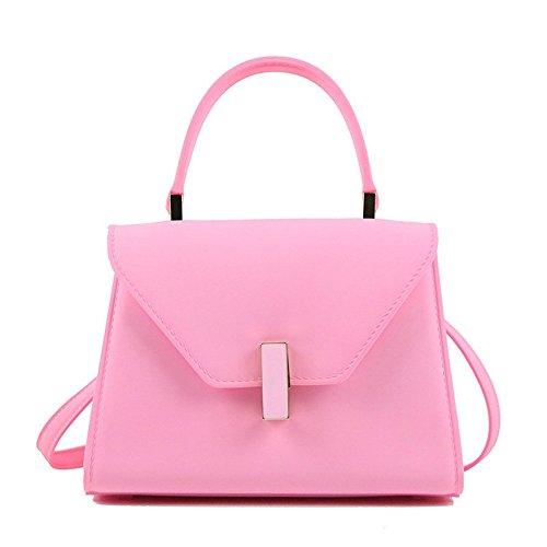 Main A Généreux Sac La Dame Avec De Simple GWQGZ Le Vert Nouvelle À Un À Bandoulière Traversé Sac Pink Mode aAqXfT