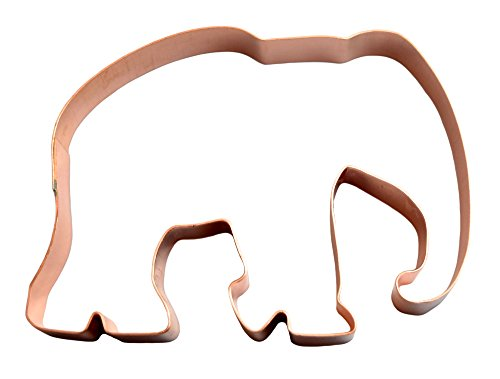 Elephant ~ Zoo Mammals ~ Copper Animal Cookie Cutter by The Fussy Pup