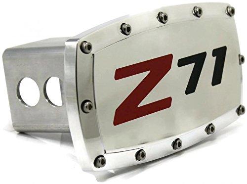 DanteGTS Chevrolet Z71 Billet 2 Tow Hitch Cover Plug Engraved Billet Aluminum