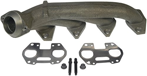 Side Exhaust Manifold - Dorman 674-694 Passenger Side Exhaust Manifold Kit For Select Ford / Lincoln Models
