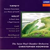 Tippett: Fantasia Concertante on a Theme of Corelli / J.S. Bach (arr. Hogwood): Fugue in B minor on a Theme of Corelli, BWV 579 / Corelli: Trio Sonata in B minor, Op. 3, No. 4 / Concerto Gross in F, Op. 6, No. 2 / Holst: St. Paul's Suite