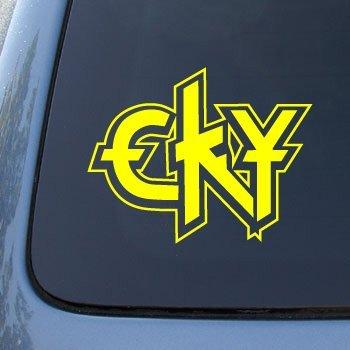 Cky camp kill yourself vinyl car decal sticker 1695 vinyl color yellow