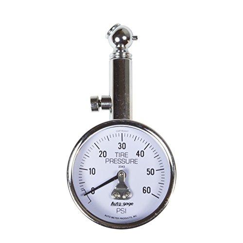 Auto Meter 2343 Autogage Mechanical Tire Pressure Gauge