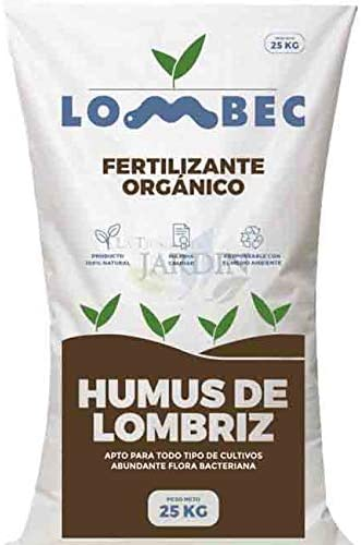 Suinga ABONO Fertilizante ORGANICO Humus DE LOMBRIZ, Saco 25 Kg ...