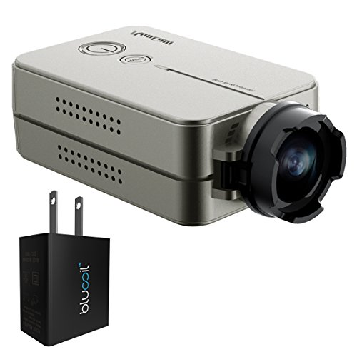 RunCam RUNCAM2-OR 1080p FPV Action Camera with 120° FOV and WiFi Built-in (Silver) -Includes- Blucoil USB Adapter blucoil