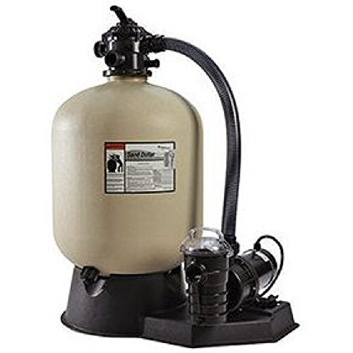 Pentair PNSD0040DO2160 Sand Dollar Aboveground Filter System with Blow-Molded Tank, 1-1/2 HP by Pentair