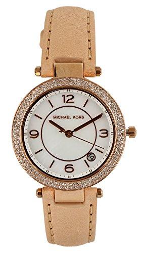 Michael Kors Mini Parke Analog White Dial Women's Watch-MK2463