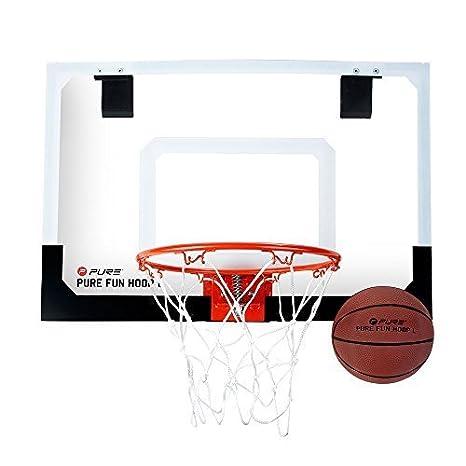 Pure2Improve cesta de baloncesto para interior + exterior Fun Hoop ...