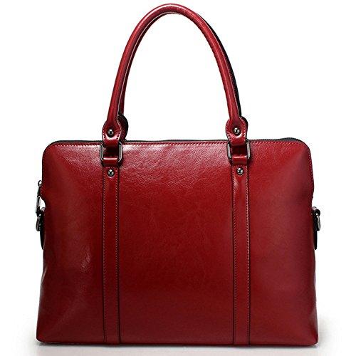Donna Blu Da In Portadocumenti Rosso A Borsa Mano Lavoro Cartella Pelle Gaveril Vera Ventiquattrore 57xTtqznw