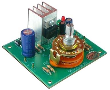 Regulator Power Supply DC 1 5V, 3V, 5V, 6V, 9V, 12V 1A for