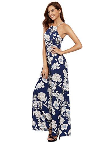 Flower Print Maxi Dresses