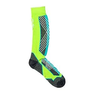 Spyder Sport Merino Sock Green Flash/Riviera/White Women's S