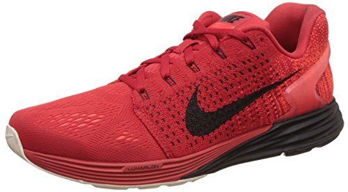 Blk sl 601 da Rosso Lunarglide Unvrsty 7 Ginnastica brght Red Uomo Rot Crmsn Scarpe Nike PwRxvq6t