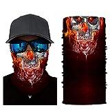 Seamless Face Mask Shield Head Wraps Bandana