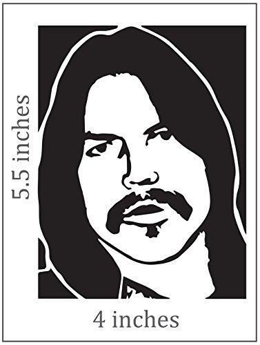 DANNY JOE BROWN Sticker Cut Vinyl - Very Browns Joe