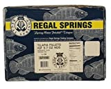 Regal Springs, Tilapia Fillets, 5-7 oz, 10 lbs