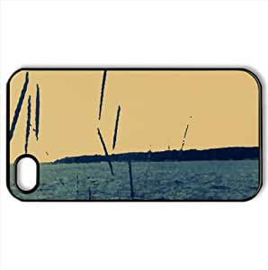 Sea Watercolor style Cover iPhone 4 and 4S Case (Beach Watercolor style Cover iPhone 4 and 4S Case)