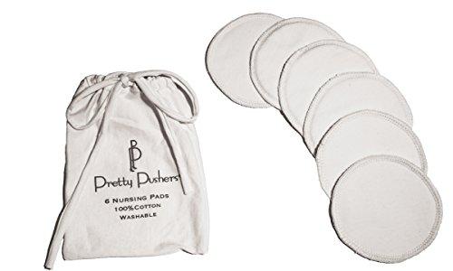 Pretty Pushers Women's Nursing Pad 6-Pack Cream
