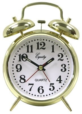 Advance Twin Bell Key wind Alarm Clock - Bell Key Wind Alarm Clock