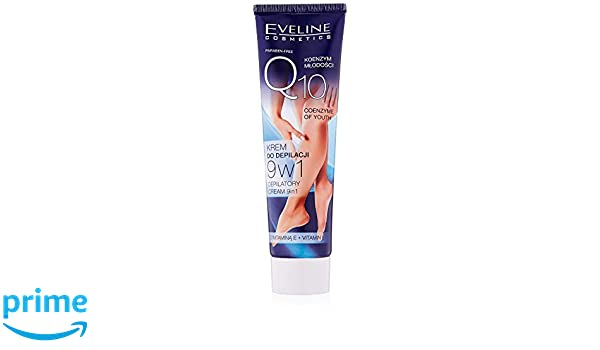 Amazon.com : Eveline Youth Coenzyme Q10 Cream Body Hair Removal 9-in-1 with Vitamin E 100ml by Eveline Cosmetics : Beauty