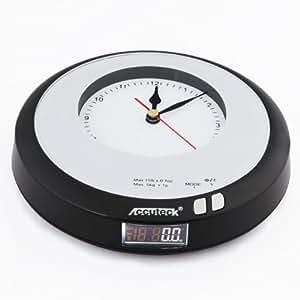 Accuteck A-KB50 2-in-1 Digital Clock Scale 11lb