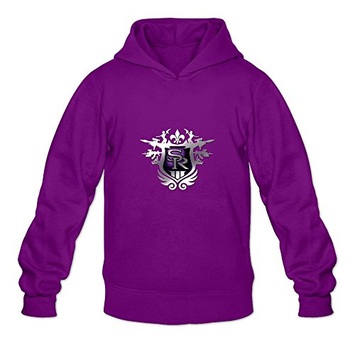 Saint Row:the Third Unique Roundneck Purple Long Sleeve Sweatshirts For Teenagers Size (Dead Space Game Merchandise)