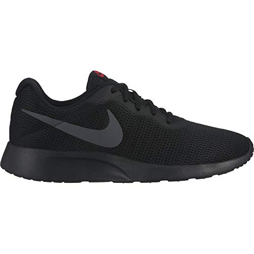 Nike Mens Tanjun Running Sneaker Black/White 11
