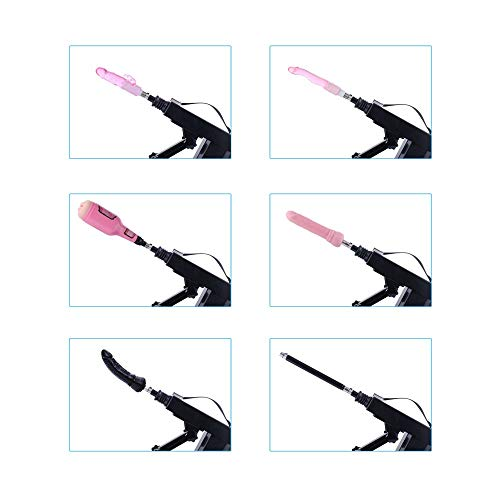 Automatic Sex Machine for Women,Female Masturbation Thrusting Pumping Gun Vagina Masturbator Cup for Men with 6 Attachments (Size7) by AUXFUN (Image #2)
