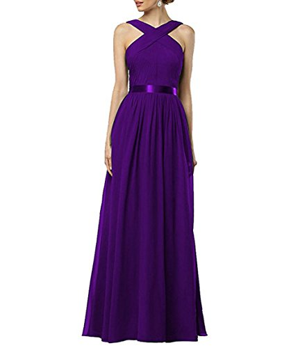 Violett Linie Damen the A Leader Beauty of Kleid X00qt
