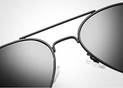 como UV400 para Hombre Gafas polarizadas de New lan de Silver de oculos Gafas Sol Gato black Sol Golden Mujeres Shuo envío Hombre Color de Kurata Oro Ojos Masculino Gratis CB6wXCxq