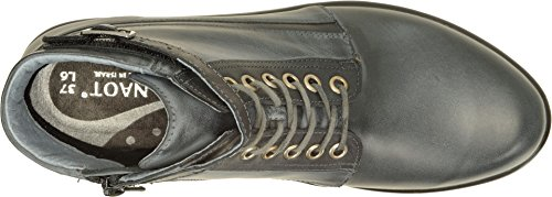 Womens Vintage Black Ash Kona Naot Leather Combo Footwear RHwaqq4